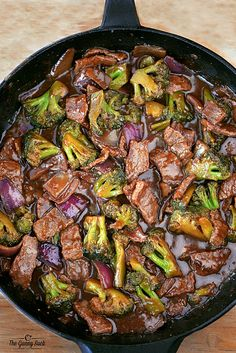 Easy Skillet Beef and Broccoli Recipe