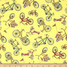 Neighborhoods Bikes Yellow