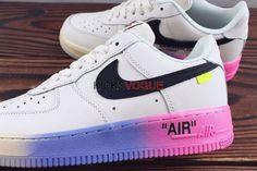 pretty nice dd1e7 b5a10 Custom Off-White x Nike Air Force 1  Queen  Muticolor