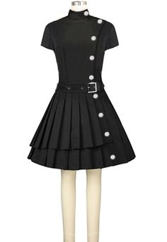 Retro 60s Dress Chic Star design by Amber Middaugh