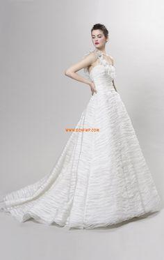 Frühling 2014 1-Schulter Reißverschluss Brautkleider 2014