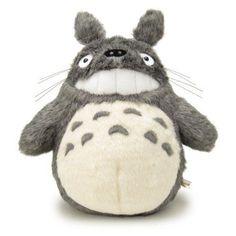 F/S My Neighbor Totoro Stuffed Toy Plush Laugh M-size Studio Ghibli from Japan #SUNARROEW