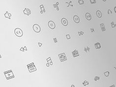 Here we present 25+line icon sets that you can download for free. Line icons usually has thin and simple appereances, they will perfect for any app UI design, website icons, bookmark icons and much more.  You can download these icons in PSD, PNG, SVG and vector format.   #Icons #PSD