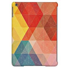 Polygon Abstract iPad Air Case