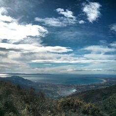 La Badia de Roses des del Coll de Sant Genís. (Alt Empordà) #Senderisme #aRoses Febrer 2014