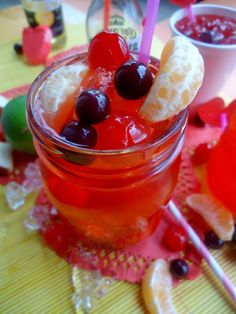 Punch, Drunk, Love- Corona, Fruit Punch Cocktail