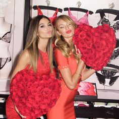 Valentine's Day with Victoria's Secret