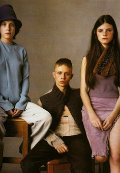 primitiveworld - emmagleason:   Vogue Italia July 1999 | Steven...
