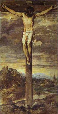 Titian (Tiziano Vecellio) ~ Crucifixion, c.1555