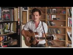 "His music always inspires me! Swedish native, Kristian Matsson, a.k.a. The Tallest Man on Earth, plays a few tracks from his debut album ""Shallow Grave."""