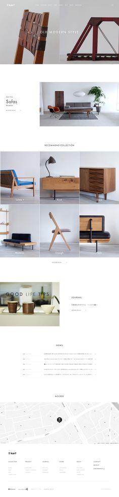 Minimal Web Design, Web Layout, Layout Design, Design Design, Web Project, Web Design Inspiration, Interactive Design, Website Template, Flat