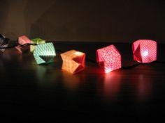 origami paper lanterns