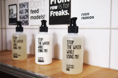 Pflegeprodukte von Stop Water While Using Me - Seife, Duschgel, Shampoo online bestellen #pflege #stopthewaterwhileusingme #seife #duschgel #shampoo
