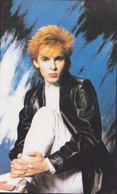 Duran Duran  Nick Rhodes...I thought for sure I would marry him!