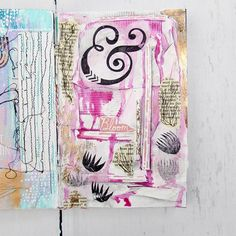 I've been watching too many art journaling process videos on YouTube lately! But it's good because it has me trying new techniques and materials I wouldn't have thought of otherwise. I watched some by @mixedmediajenn and loved how much texture she uses. So I layered a bunch of materials, then gessoed over it all, and added inks to highlight all the edges, ripples, crevices and cracks. It was fun, even though it was outside my usual methods. What's a new technique you've tried lately? Share…
