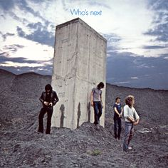 The great Who LP 'Who's Next', released today 43 years ago on 8-14 in 1971. Songs on this one included Baba O'Riley, Behind Blue Eyes, The Song Is Over, Going Mobile, Getting in Tue and Won't Get Fooled Again - the LP remains a strong classic to this day.