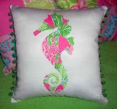 seahorse pillow, do want