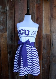 Texas Christian University TCU Horned Frogs Game by Jill Be Nimble on Etsy