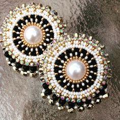 ⚫️ |Pure Elegance| ⚪️ #customorder #nativebling #radiantsongbird #beadedbling