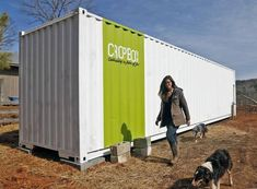 Cropbox Blends Greenhouses and Hydroponics for Mobile Farming #unique trendhunter.com