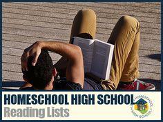 Homeschool High School Reading Lists