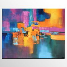 Abstract Painting, Contemporary Painting, Acrylic Art, Large Wall Art, Original Artwork
