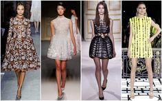 From L-R: Valentino, Christophe Josse, Giambattista Valli and Versace Atelier.