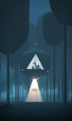 Abduction! on Behance