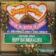 Bunga Papan Happy Wedding HW924WF