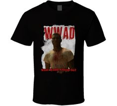 Wwad What Would Atticus Black Do Lovecraft Country 2020 Top Tv Show T Shirt Top Tv Shows, Atticus, Sport T Shirt, Shirt Style, Wicked, Country, Mens Tops, Shirts, Black