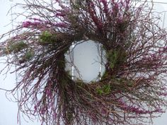 Hey, I found this really awesome Etsy listing at https://www.etsy.com/listing/261880907/blueberry-heather-wreath-rustic-wreath