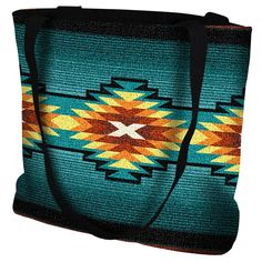 """17"""" width x 17"""" length 32"""" black straps. Jacquard woven cotton art tapestry. Not a print. Design is on both sides of the tote bag. Fully lined. Spot clean. Made in the USA. If not in stock, please all"""
