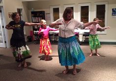Teaching hula in Asheville NC