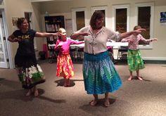 Teaching hula in Asheville NC