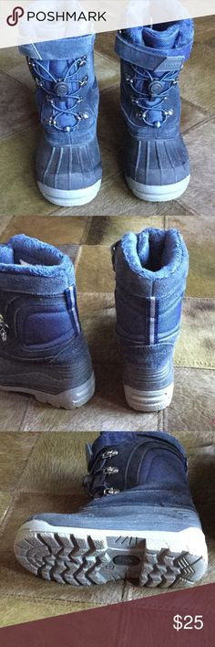🎄HP 12/24/17 🎄Great Quality Kids Snow Boots Excellent condition.  Warm and waterproof boots by Lands End. Lands' End Shoes Rain & Snow Boots