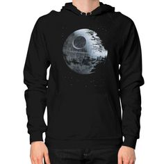 Death Star Hoodie (on man)