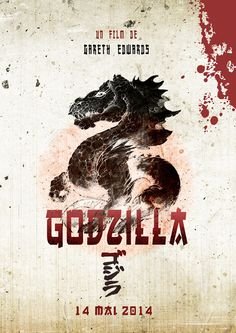 Awesome poster artwork for Godzilla Godzilla, Cool Posters, Movie Posters, Monster Art, Nerd Stuff, Monsters, Artwork, Prints, Universe