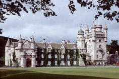 Balmoral Castle.  Another Graham family castle - How I'd love to see my ancestors home places.