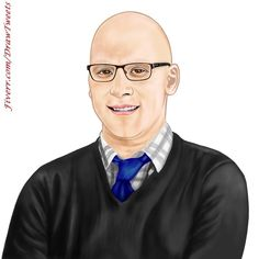 Handsome Businessman Feeling Confident - An art piece inspired by the 2nd order from George in I will hand draw cartoon avatar from your photo gig on Fiverr.com/DrawTweets #Handsome #Businessman #Confident #Portrait #Caricature #Art #Drawing A Cartoon, Cartoon Drawings, Art Drawings, Beautiful Drawings, Caricature, Confident, Hand Drawn, Your Photos, Avatar