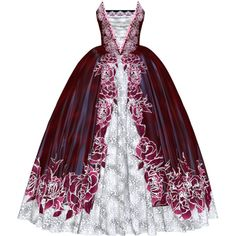 Dress for my Princess2.png ❤ liked on Polyvore featuring dresses, gowns and long dress