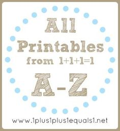 Amazing free printable preschool packs for learning fun! ***Need to do this!!!