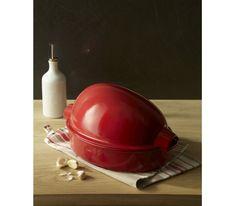 Emile Henry - Naczynie ceramiczne do pieczenia drobiu pieczony kurczak