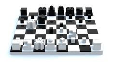 LEGO Ideas - Product Ideas - Bauhaus Chess Set