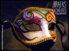 mascaras venecianas : antifaz capelli