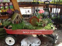 Creating a Miniature Garden (sometimes called a Fairy Garden) has become very popular today. Included are many ideas for inspiration in creating your own.