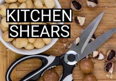 Here are the best kitchen shears and scissors to help you cut your way through herbs, poultry, meat and seafood. Kitchen Hacks, Kitchen Gadgets, Grilling Tips, Grilled Chicken Recipes, Home Recipes, Food Preparation, Quick Meals, Cool Kitchens, Meal Prep