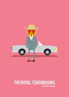 The Royal Tenenbaums Eli Cash tribute poster by Olaf Cuadras on The Bazaar. Buy creative products by Olaf Cuadras online!