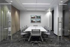 Office Tour: Inside Alterra's Headquarters Office Interior Design, Office Interiors, Visual Merchandising, Guidance Office, Senior Home Care, Rectangle Table, Vintage Chandelier, Design Furniture, Entertainment Room