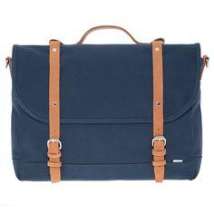 sandqvist izzy messenger blue @ Men's Bag Society