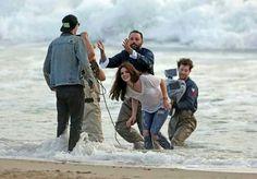 Lana Del Rey behind the scenes of West Coast music video #LDR